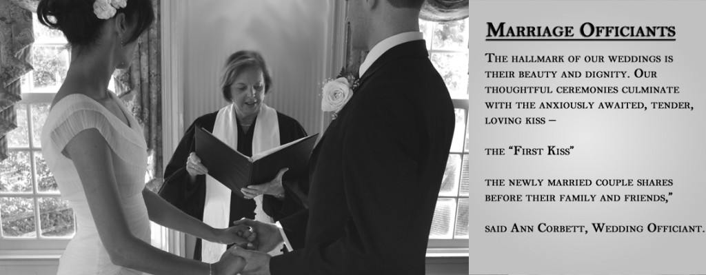 Ann V. Corbett Wedding Officiant New York