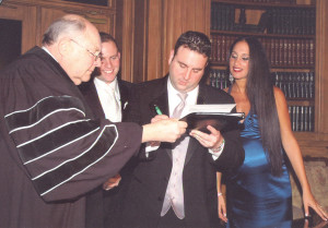 Wedding ceremony officiants in NY Area